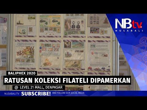 Ratusan Koleksi Barang-barang Filateli Dipamerkan Dalam Pameran Bali Philately Exhibition ke-12