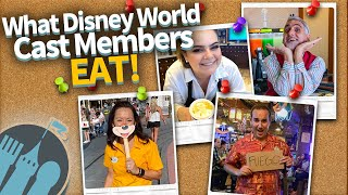 What Disney World Cast Members Eat!