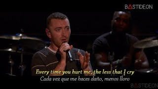Sam Smith Too Good At Goodbyes Sub Español