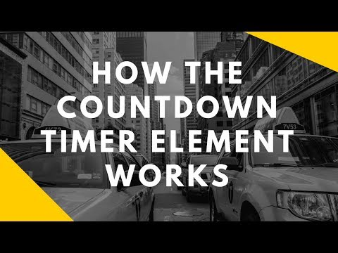 [TUTORIAL] How The Scarcity Countdown Timer Element Works Inside Of ClickFunnels