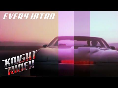 Every Intro (Seasons 1-4) | Knight Rider