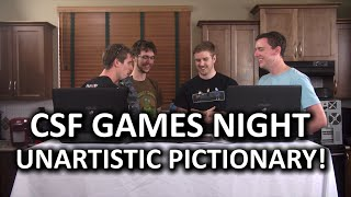 Super Fun Games Night! Unofficial Pictionary - Featuring Sevadus!