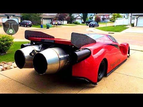 10 Most PowerFul Vehicles With Crazy Engines /  सबसे शक्तिशाली खतरनाक जेट इंजिनवाहन वाहन