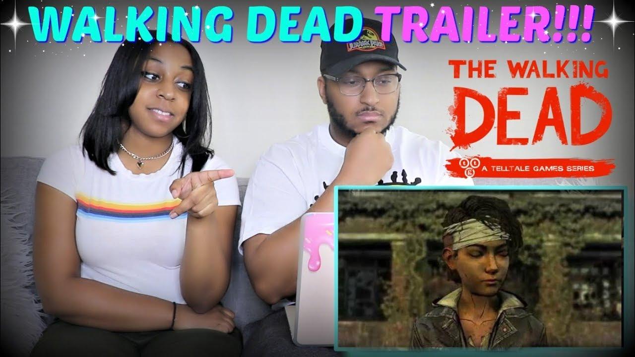 """""""THE WALKING DEAD SEASON 4"""" Comic Con Trailer REACTION!!"""