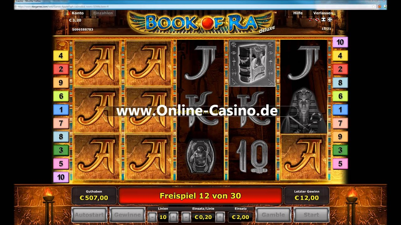 Book Of Ra Echtgeld Online Casino