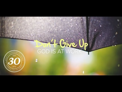 Blessed to Bless - Don't Give Up, God is at Work - Peter Tanchi