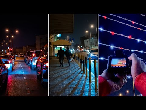 POV Night Street Photography in Bahrain | Sony A7iii (sigma 24-70 2.8)