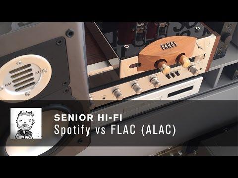 Spotify vs. FLAC (ALAC)