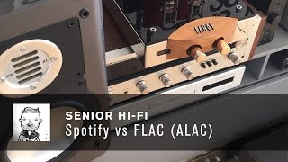 spotify vs flac alac