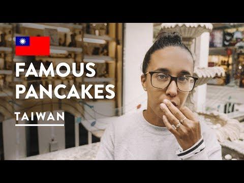 TAIPEI FIRST IMPRESSIONS & STREET FOOD - TAIWANESE PANCAKE | Travel Vlog 112, 2018 Taiwan
