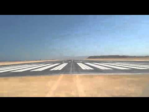 New Bosaso runway concrete plus aspgalt