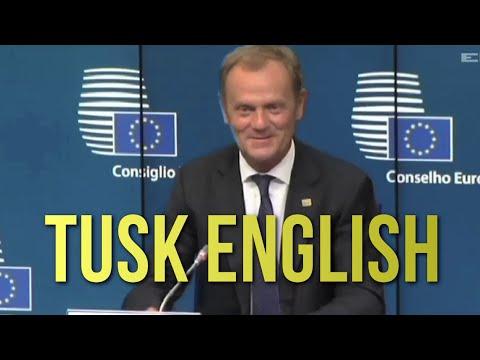 Oceniamy angielski Donalda Tuska