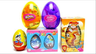 Surprise Eggs Collection - Shopkins, My Little Pony, GoGo, Baby & Safari