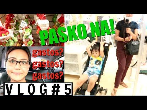 VLOG #5 : CHRISTMAS DECOR SHOPPING (Philippines) - Via Austria