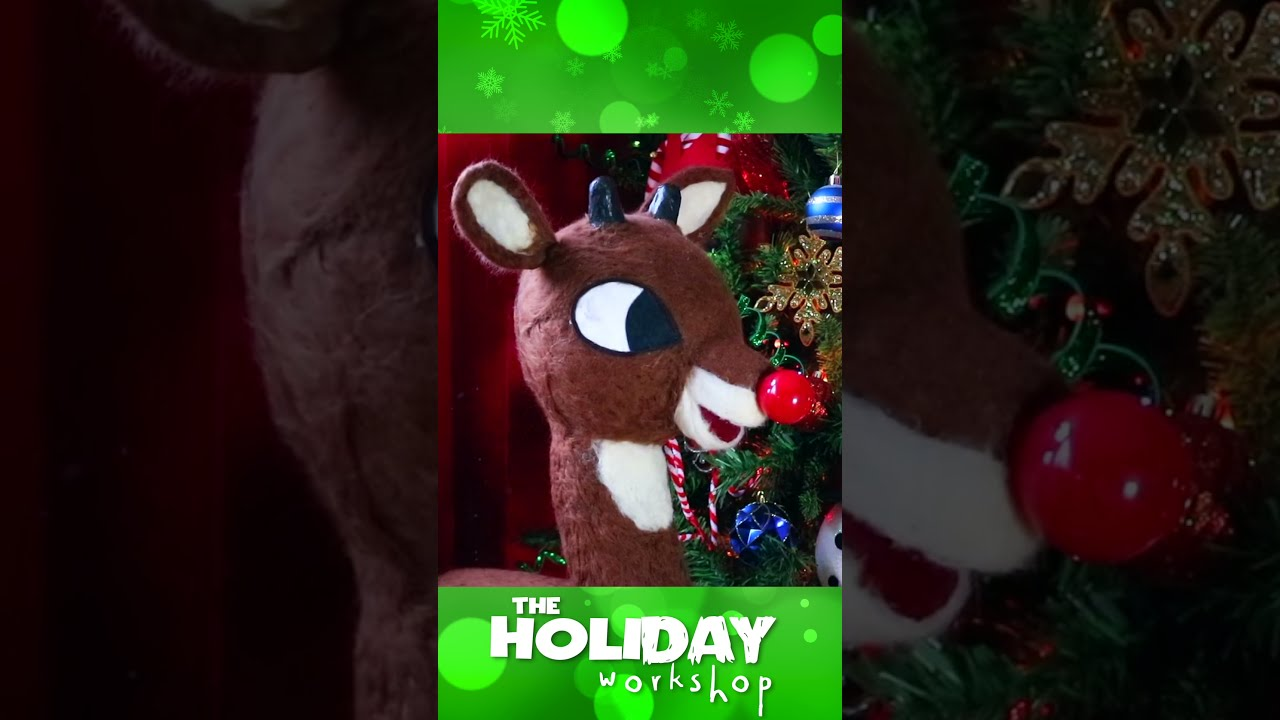 FUN CHRISTMAS DECOR DIY'S / RUDOLPH THE RED-NOSED-REINDEER