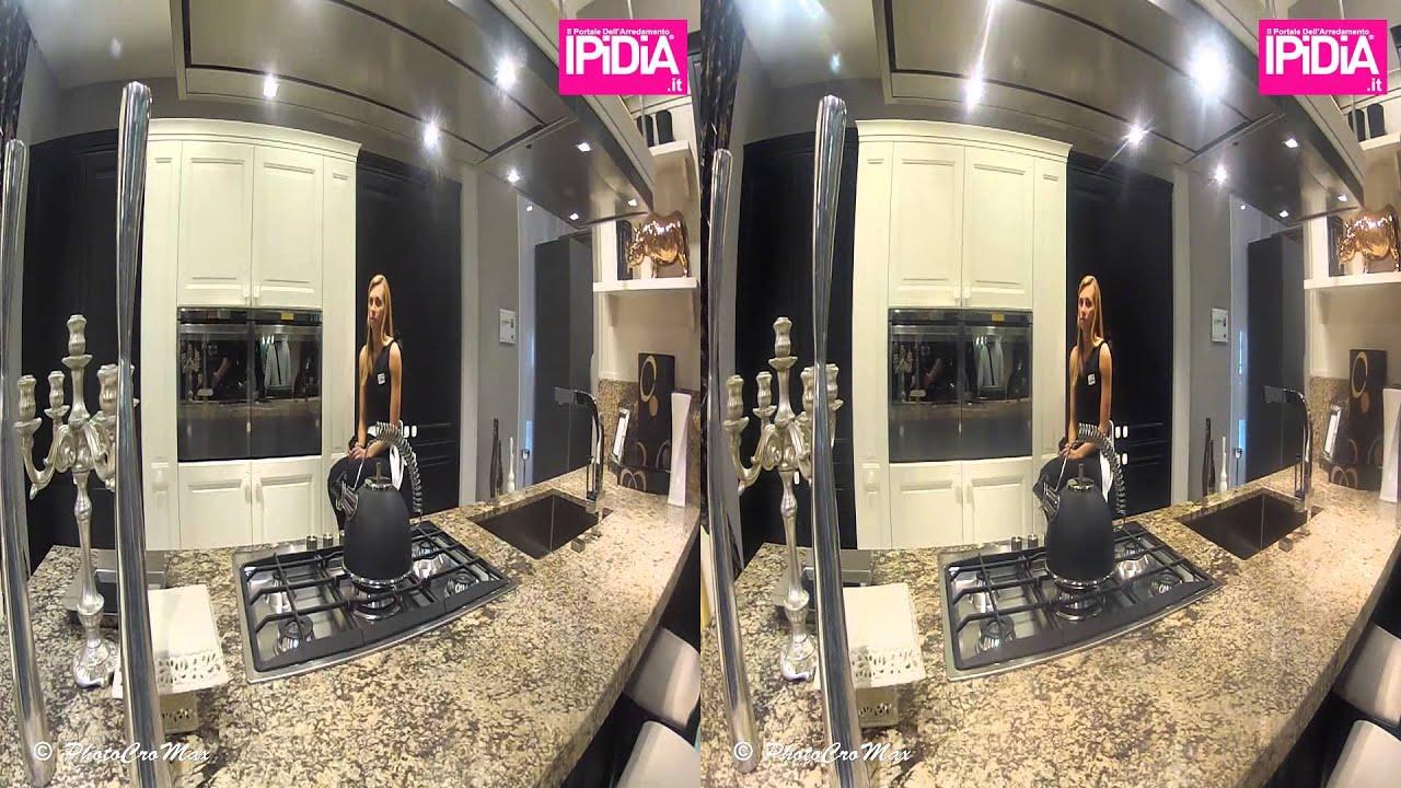 3D Tour in Veneta Cucine at il salone internazionale del mobile ...