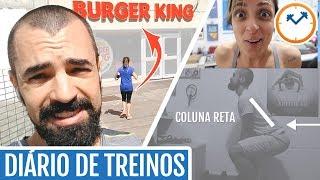 ⏰ DIÁRIO DE TREINOS (nossa rotina de exercícios da semana) | Saúde na Rotina 🏃 thumbnail