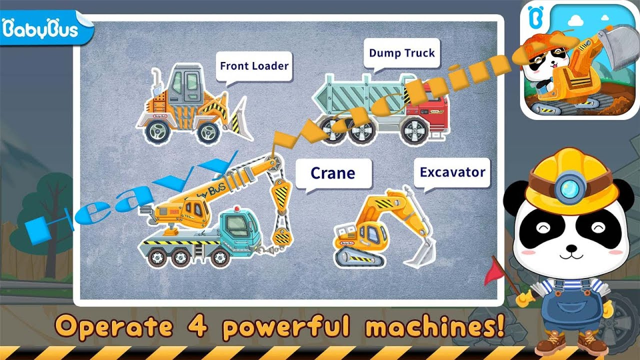 heavy machines free for kids review games kids onlinetv youtube
