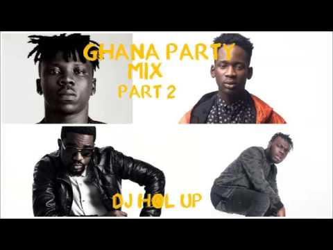(NEW) Official Ghana Party Mix 2017  Ft Sarkodie, Bisa Kdei, Stonebwoy, Jaij Hollands