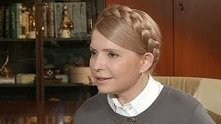 Tymoshenko dismisses civil war fears, says Putin