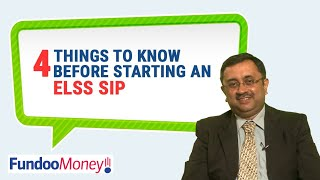 4 Things To Know Before Starting An ELSS SIP