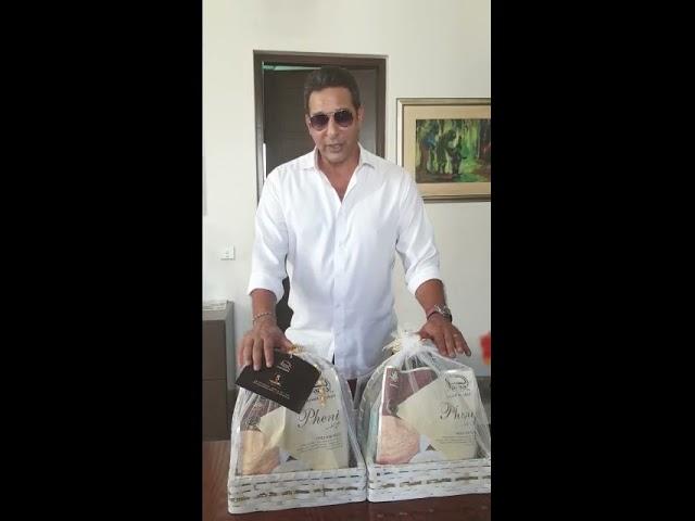 5 Years Anniversary | Mr. Wasim Akram | Jazaa Foods By Junaid Jamshed