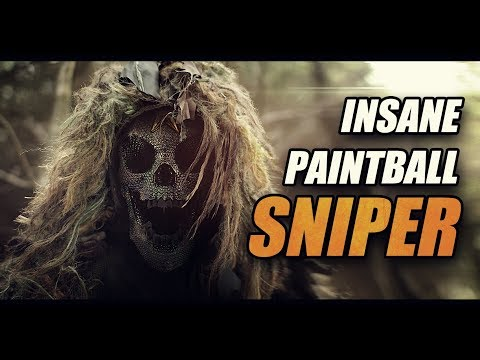 INSANE PAINTBALL SNIPER: crazy sniper hits!!!