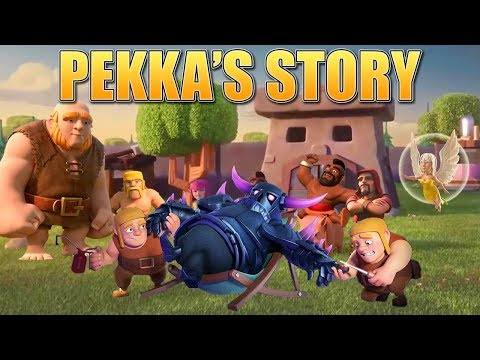 Clash Of Clans Story - How The P.E.K.K.A Was Created & The Origin Of The Builders! | CoC Fan Story