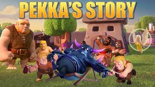 Clash Of Clans Story   How The P.e.k.k.a Was Created & The Origin Of The Builders! | Coc Fan Story