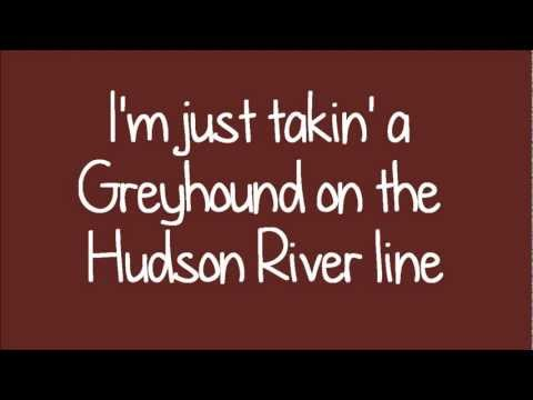 Glee - New York State Of Mind (Lyrics) HD