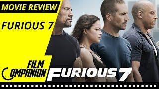 Furious 7   Movie Review   Anupama Chopra
