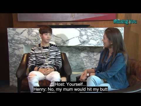 Thumbnail: [ENG SUB] 140903 TVB 東張西望 Henry Interview