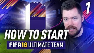 Video HOW TO START FIFA 18 ULTIMATE TEAM! Episode 1 download MP3, 3GP, MP4, WEBM, AVI, FLV Desember 2017