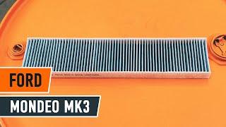 FORD MONDEO MK3 Sedan pollenszűrő csere [ÚTMUTATÓ AUTODOC]