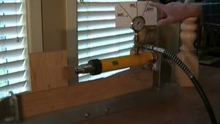 How To Build A Coffee Table Using Dowelmax Part 1 - Leg To Rail Joint Destructive Strength Test