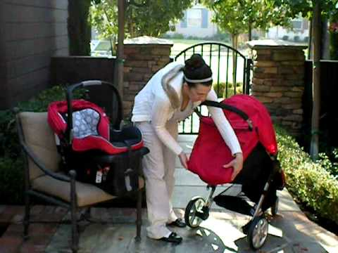 Britax B Agile Stroller Safe Car Seat Review Demo