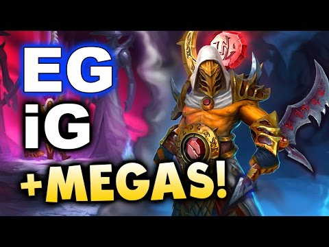 EG vs iG - Megas + Base Race GG! - KIEV Major Groups DOTA 2