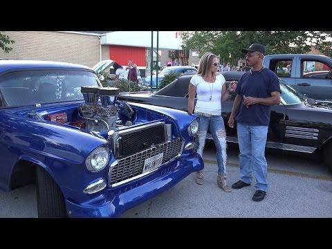 1955 Chevy Belair - 800 HP 10 second car - Lansing Car Show