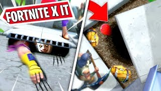 FORTNITE X IT APPEARS BY MAP, RUIDOS ET POSSIBLE SECRET GUARIDA OF PENNYWISE IN DIRECT FORTNITE