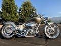 2008 BIG DOG PITBULL PRO-STREET CUSTOM CHOPPER MOTORCYCLE! GRAY & SILVER 2,820 MILES!