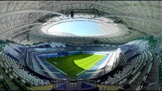 2018 FIFA World Cup: Samara Arena (360 VIDEO)