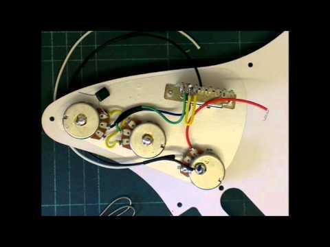 Standard Strat Full Tone Wiring Harness