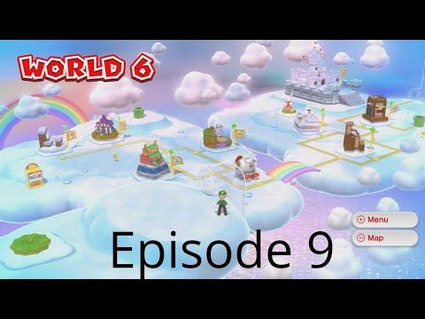 mario 3d world episode 9 with Ashton 100% walkthrough