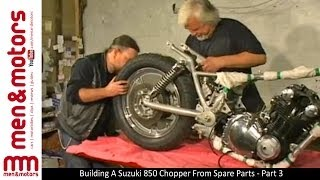 Building A Suzuki 850 Chopper From Spare Parts - Part 3