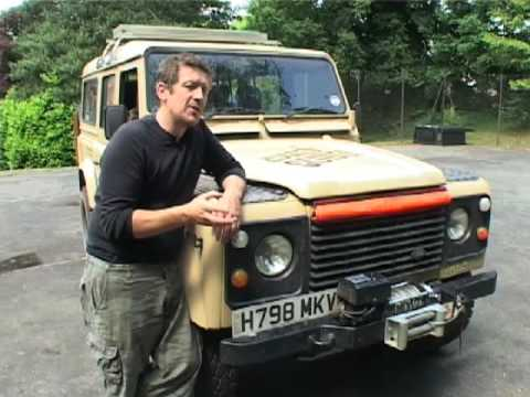 Winch And Wade Blanket For Land Rover Defender From Rugged Guide Com You