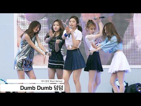레드벨벳 Red Velvet [4K 직캠]Dumb Dumb 덤덤@20160806 Rock Music