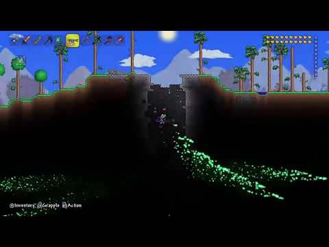 Terraria:What happens when you get rid of all the corruption biome?
