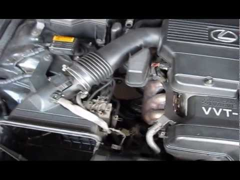 Lexus Is300 Changing Spark Plugs And Intake Valve Gasket