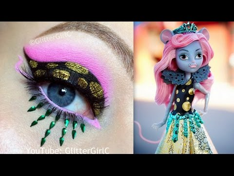 Monster High Mouscedes King MAKEUP TUTORIAL