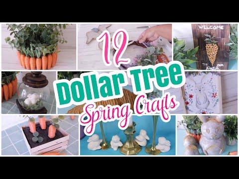 12 Best Dollar Tree DIY Spring Easter Crafts